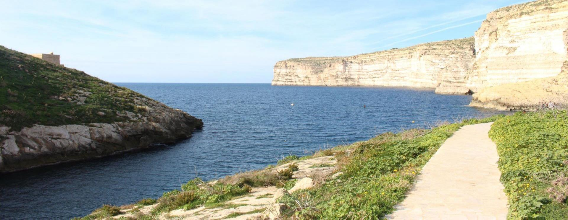 First time to Gozo