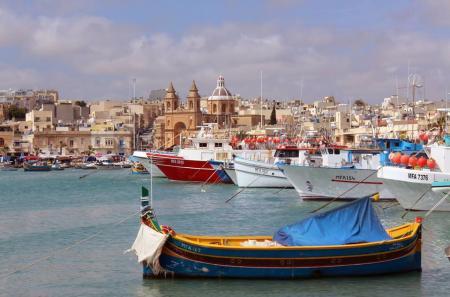 Marsaxlokk a Malta
