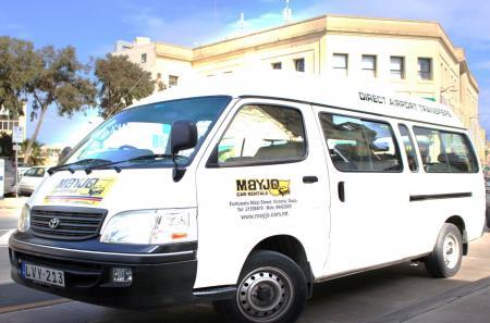 transfert en Minivan