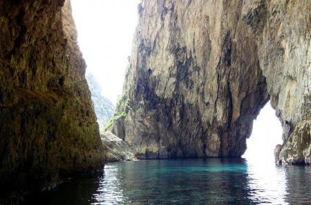 La Blue Grotto a Malta