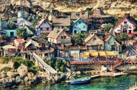 Popeye Village a Malta