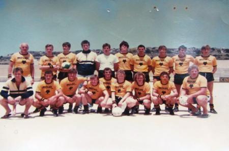 Mayjo football team