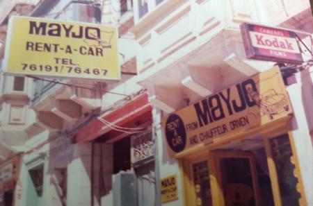 Old photo of Mayjo