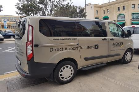 Mayjo Ford minivan for airport transfers