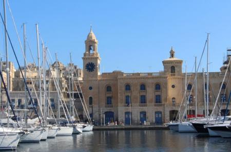 Malta Maritime Museum in Birgu