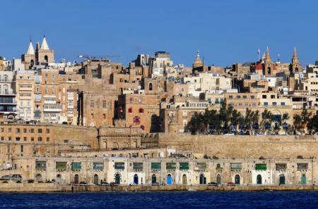 Valletta si vede da Isla