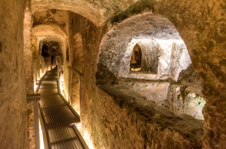 Les catacombes de Saint Paul