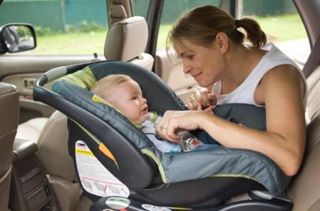 Free baby seat in your car rental