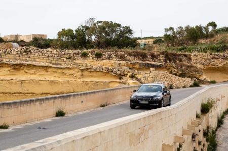 Mayjo BMW and driver