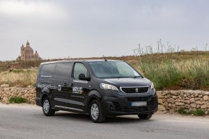 Minivan for airport transfers